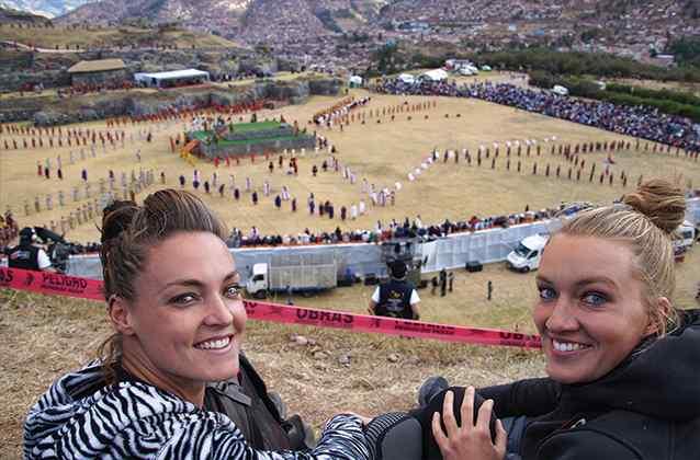 Inti Raymi van berg