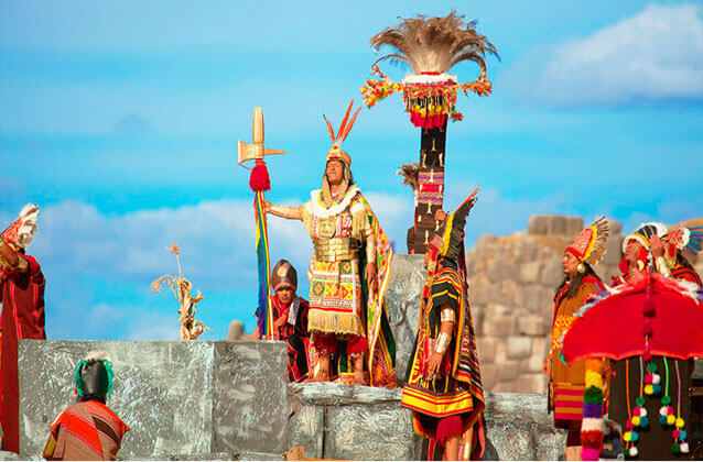 Inti Raymi ticket in red section. Standard seats.